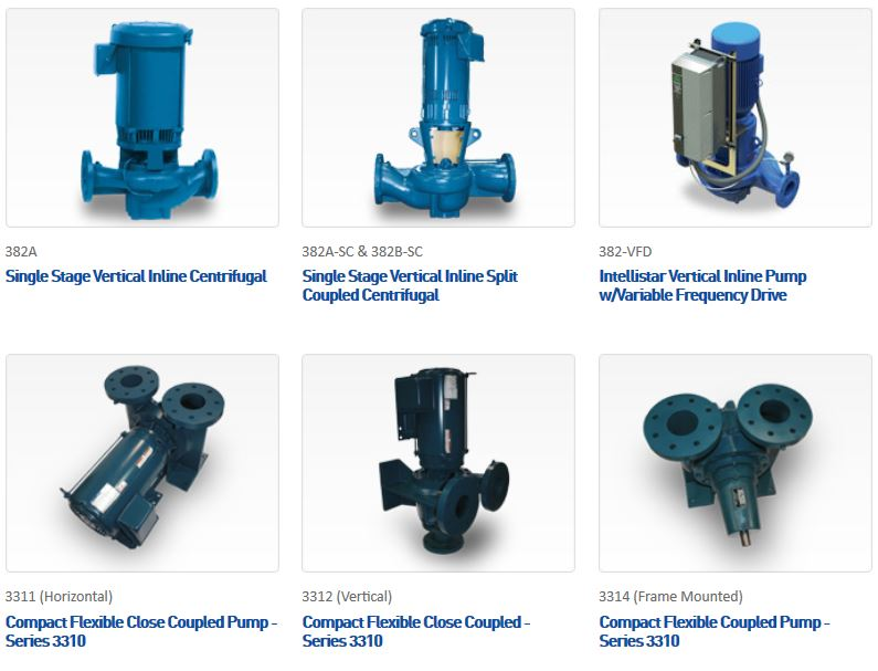 End Suction Pumps – Aurora Pump | JCI Industries Inc