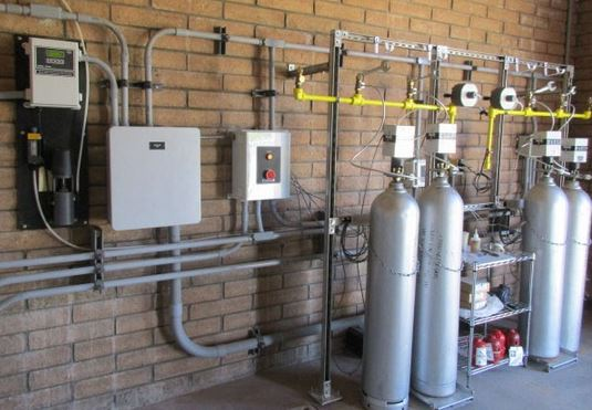 Chlorine Gas Feed System Jcs Industries With Automatic