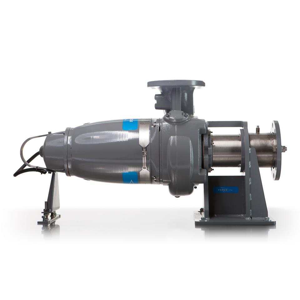 Flygt Submersible Pumps Jci Industries Inc Well Pump Installation Diagram General Horizontal Dry Pit Service Cart