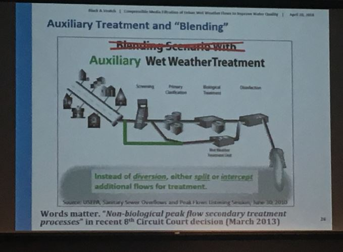 BV Presentation KU Environmental Conference Auxillary Treatment not blending